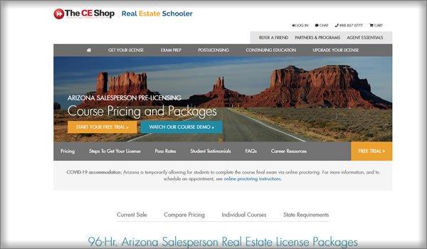 online real estate schools in Arizona
