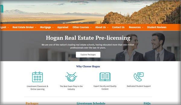 best online real estate schools in Arizona
