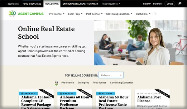 real estate schools in Alabama