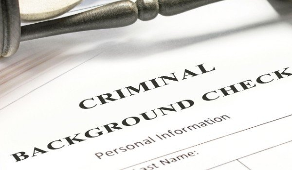 get a background check