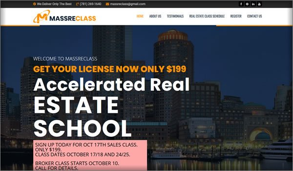Accelerated Real Estate School