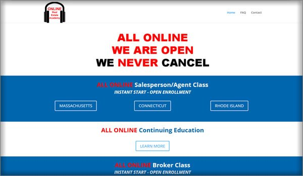 All ONLINE Real Estate Academy