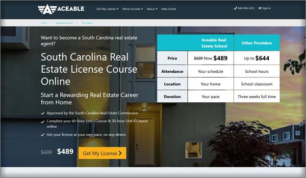 AceableAgent south carolina