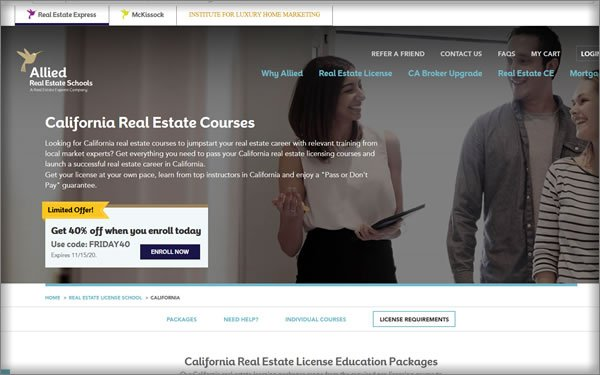 Allied Real Estate School Course