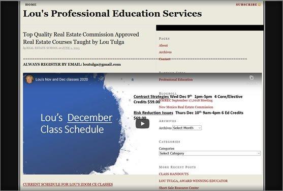 Lou's Professional Education Services