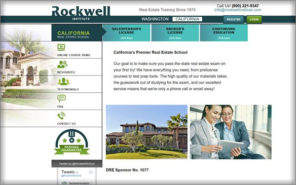 Rockwell California Course Offerings
