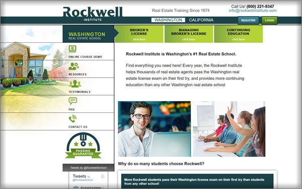 Rockwell Washington Course Offerings