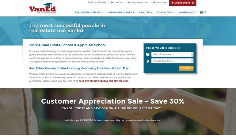 VanEd Real Estate School review