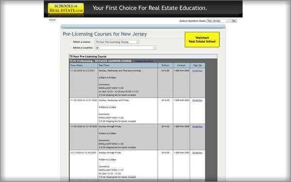 Weichert Real Estate School Course