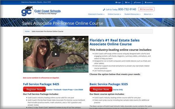Gold Coast Schools courses