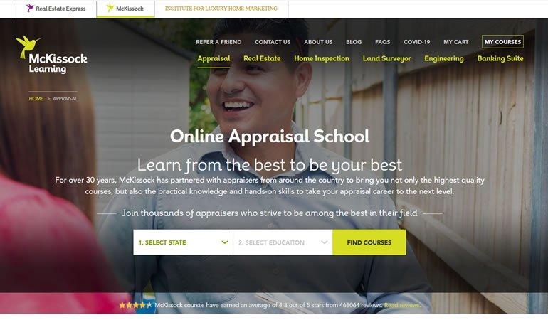 McKissock Appraisal School review