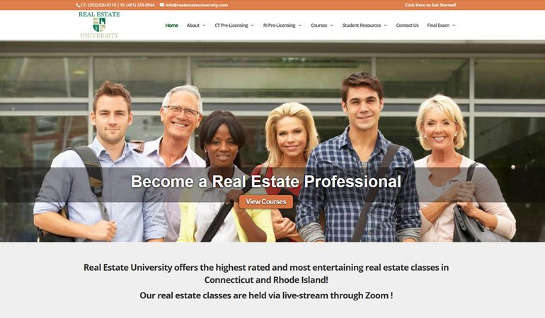 Real Estate University review
