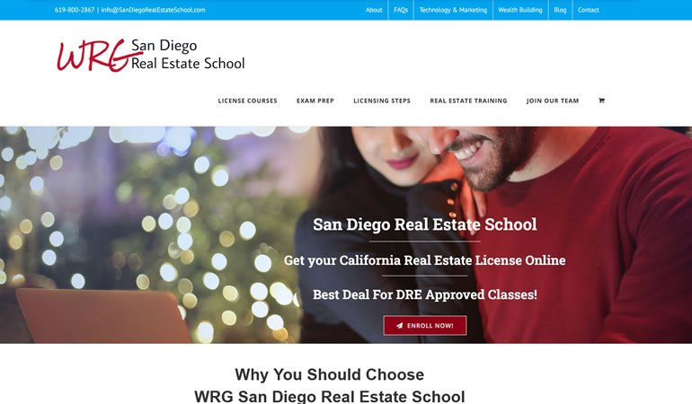 San Diego Real Estate School review