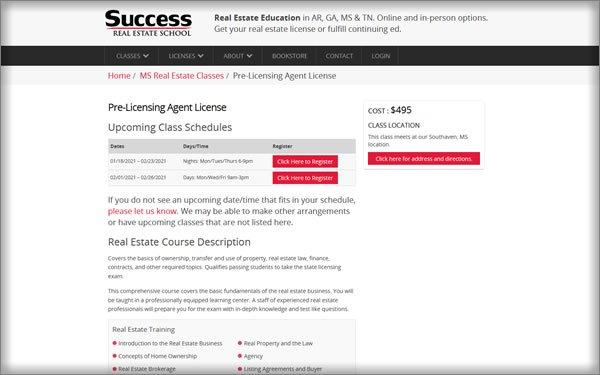 inside the success course