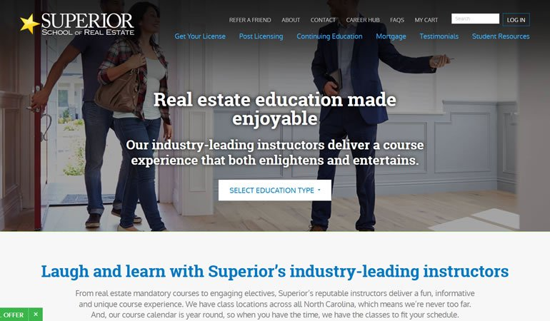 Superior School of Real Estate review