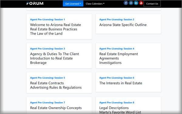 in-depth look at the forum real estate school
