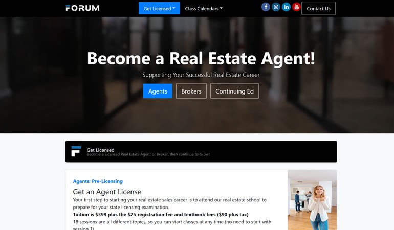 The Forum Real Estate School review