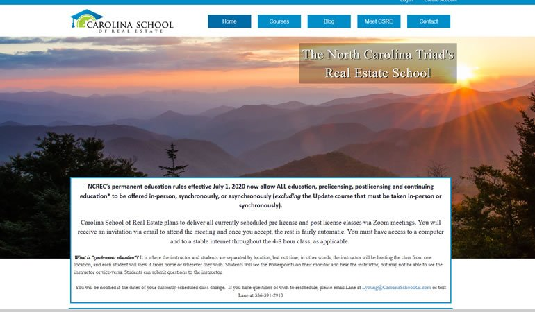 North Carolina School Of Real Estate review