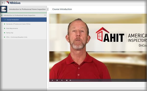 AHIT American Home Inspectors Training course