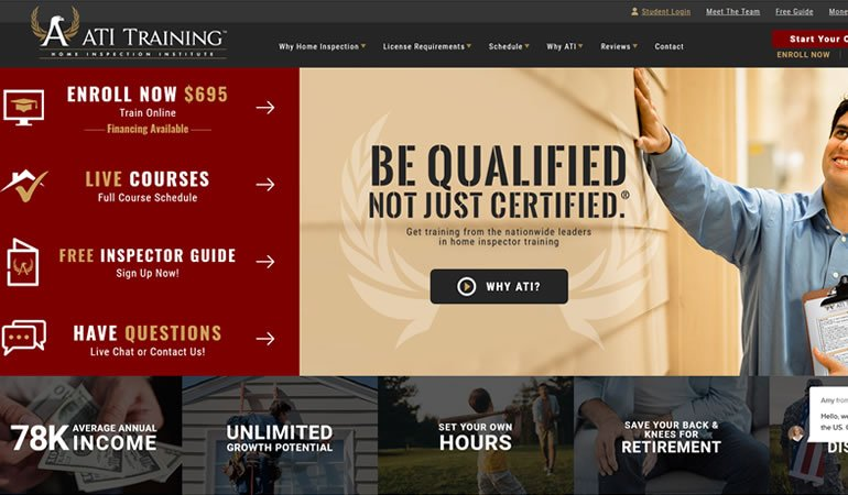 ATI Home Inspector Training review