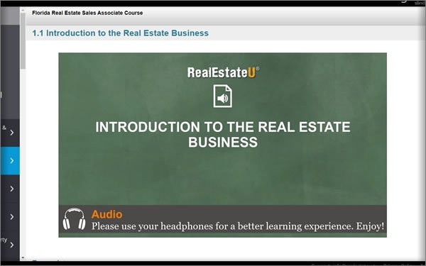 audio based course
