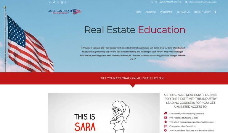 American Dream Real Estate School review