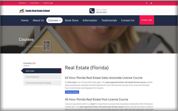In-Depth Look At Cooke Real Estate School