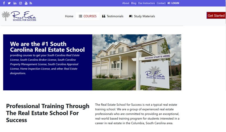 Real Estate School for Success review