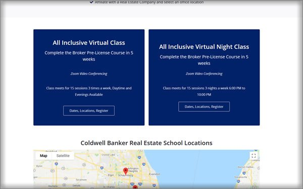 Coldwell Banker Real Estate School course