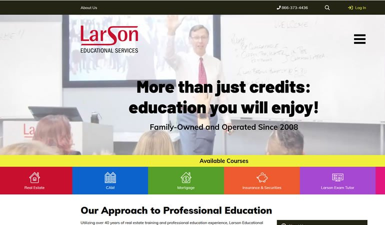 Larson Educational Services review